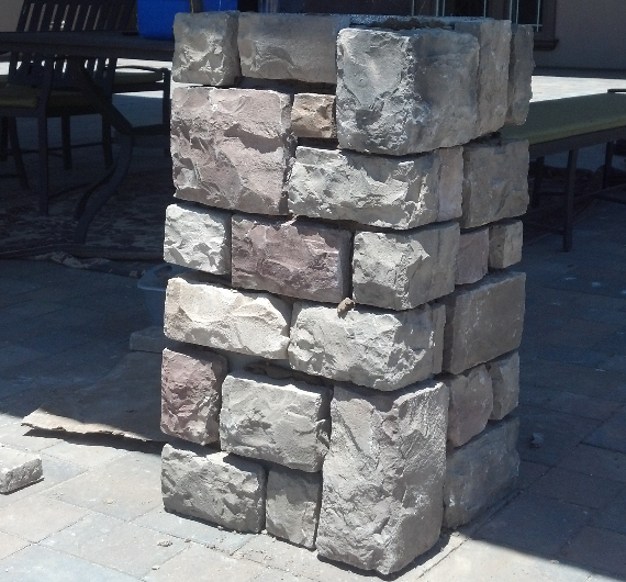 this is an image of livermore concrete and masonry pros stone veneers livermore