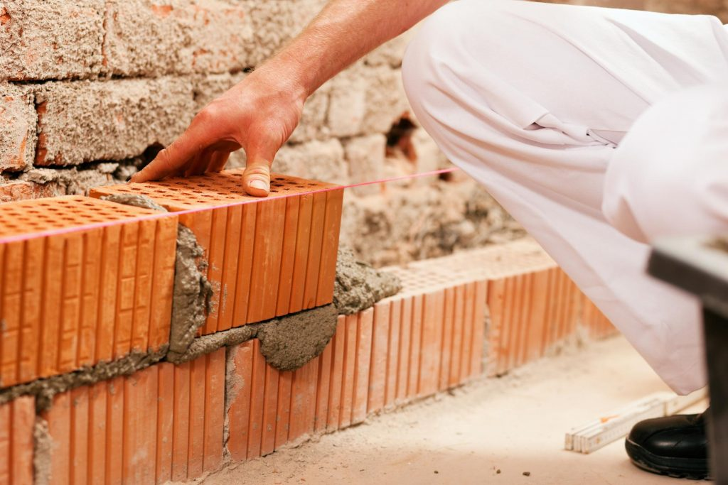 this is an image of bricklayer from livermore concrete masonry