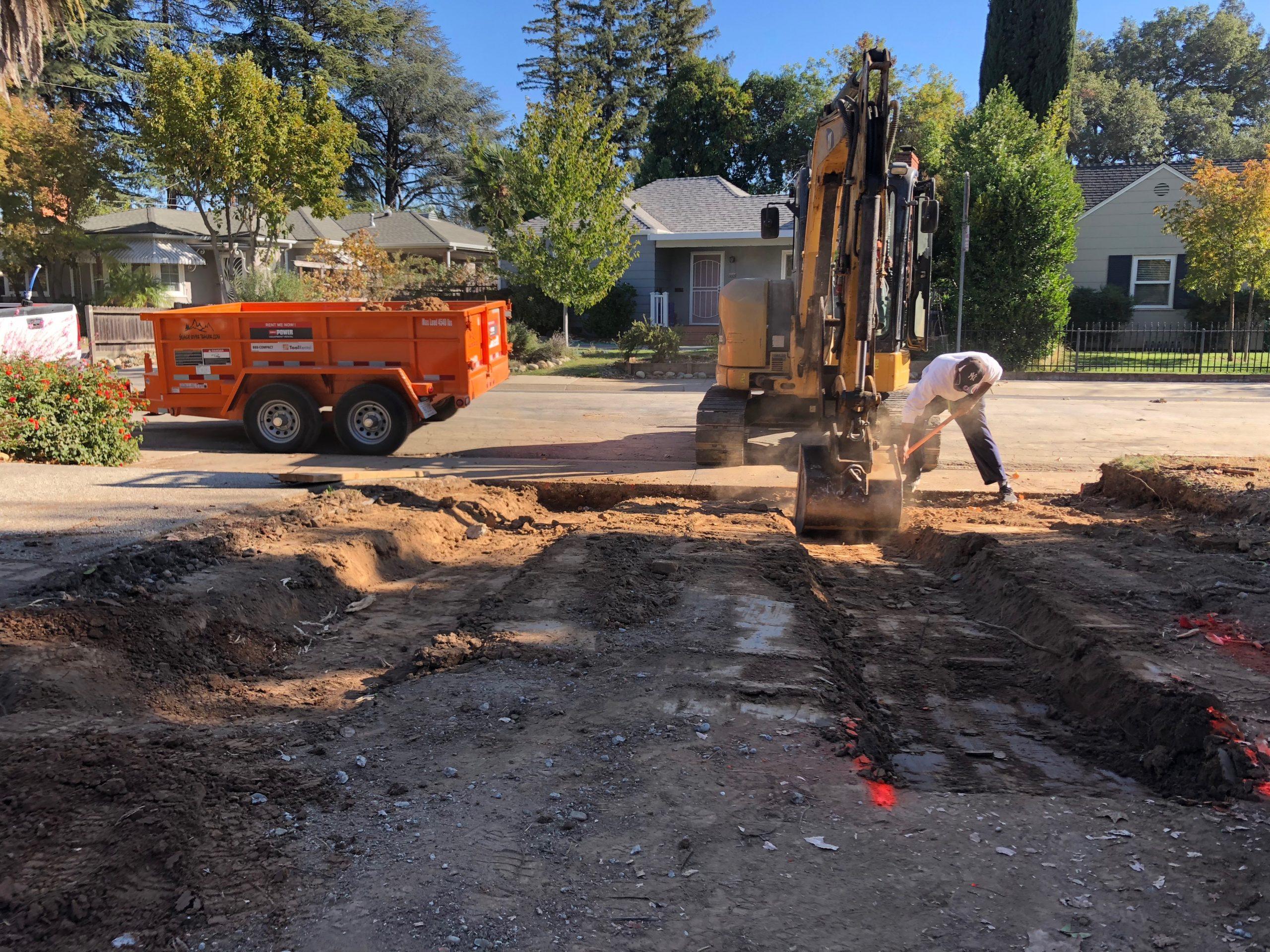 this picture shows concrete company in livermore california