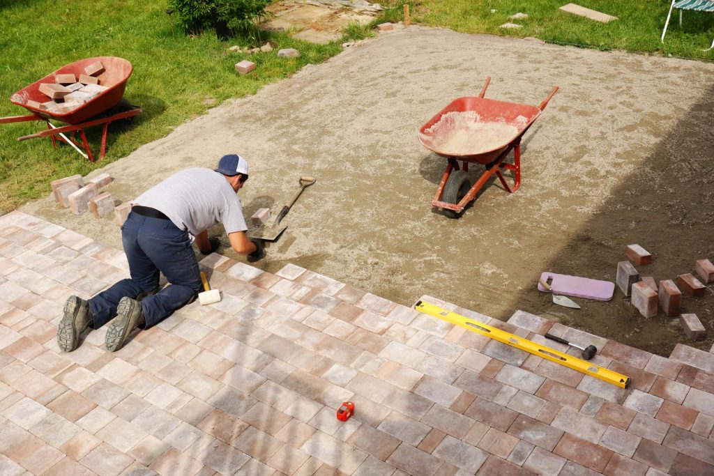 thsi image shows livermore patio pavers