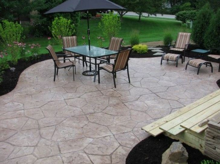 this picture shows livermore concrete patio