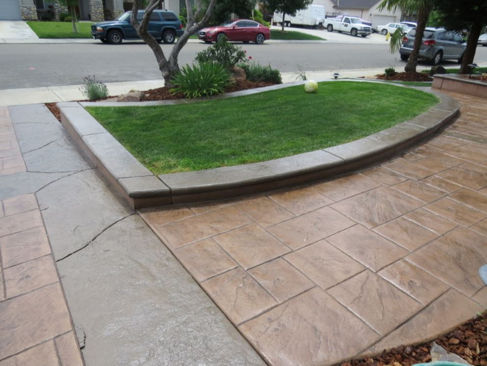 this image shows concrete driveway livermore