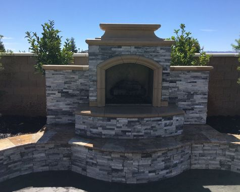 this image shows fireplace livermore