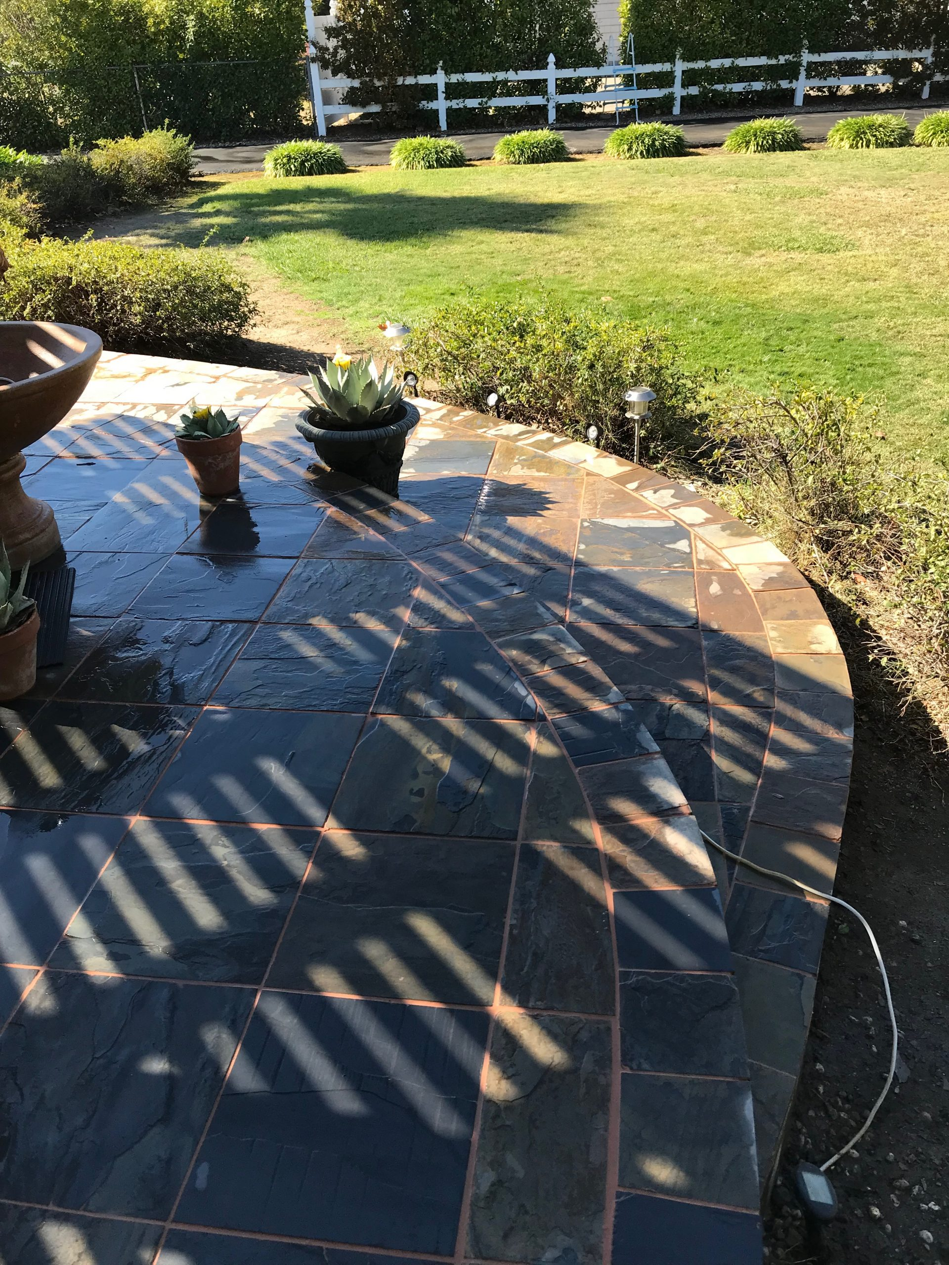 A picture of brock pavers in Livermore, CA
