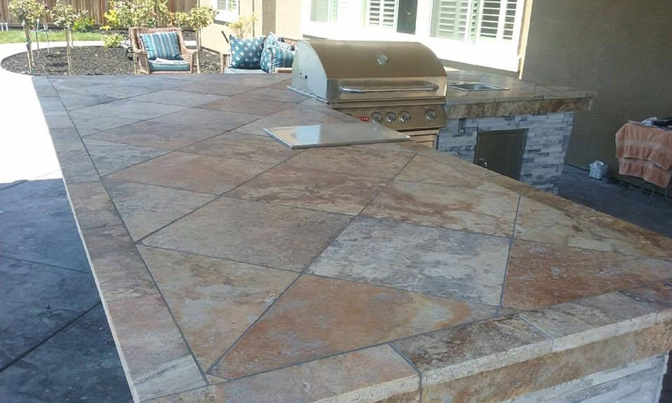 an image of concrete countertops in Livermore